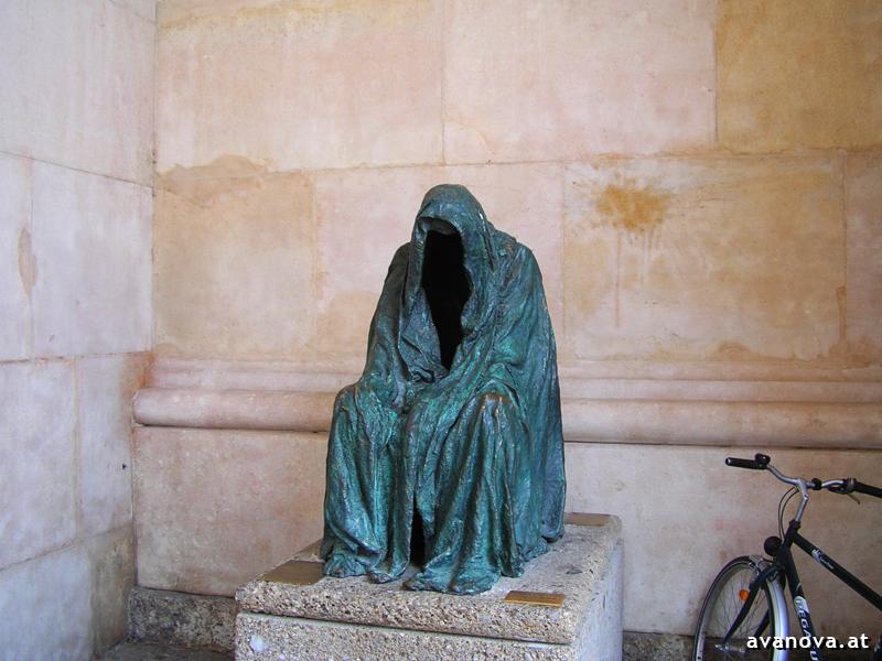 Bronzeskulptur in Salzburg