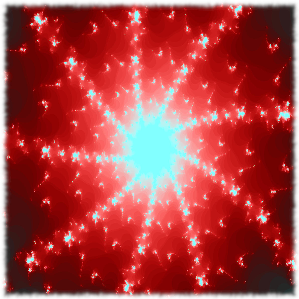 Red fractal