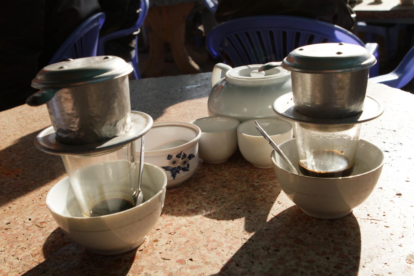 Vietnamese coffee in Da Lat