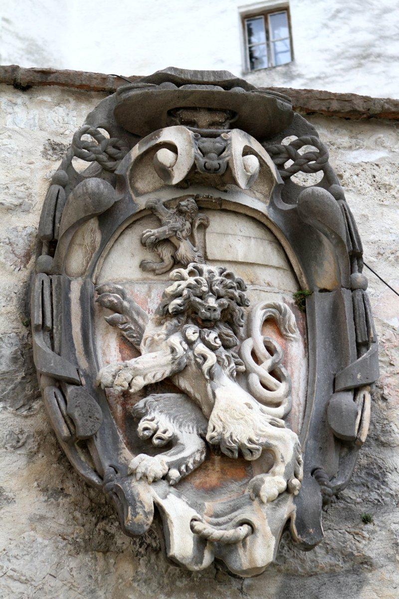 Wappen des Salzburger Fürsterzbischofs Paris Lodron