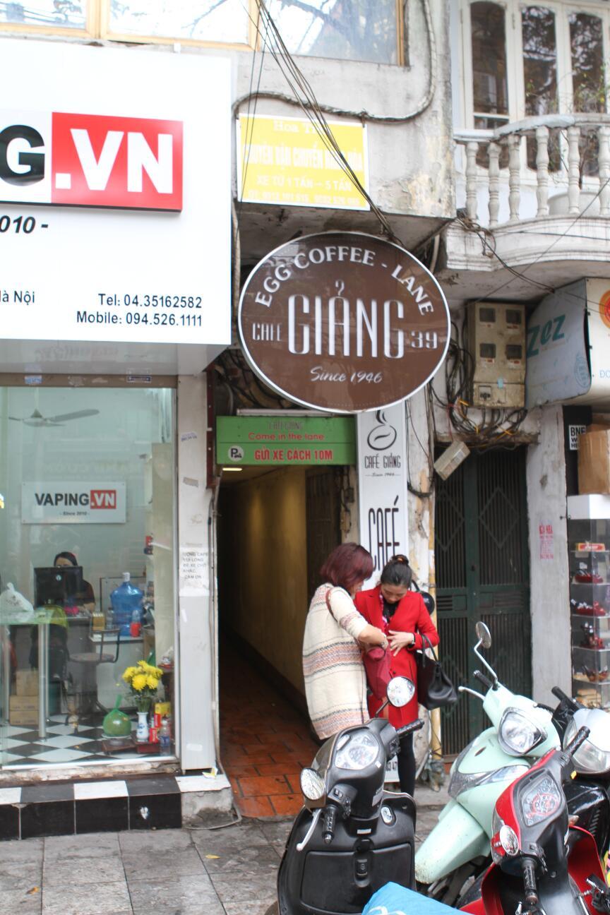 Giang coffee Hanoi