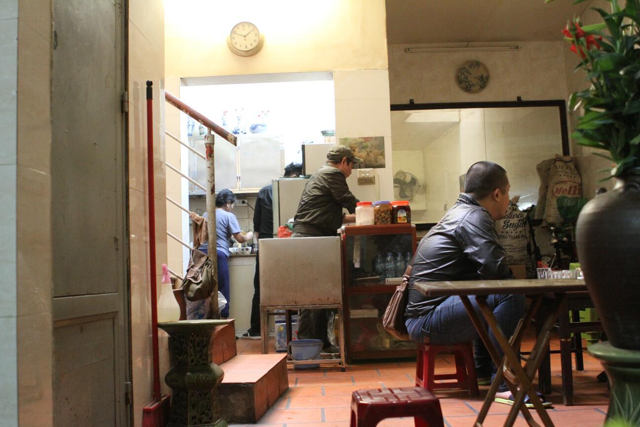 Coffeeshop in Hanoi
