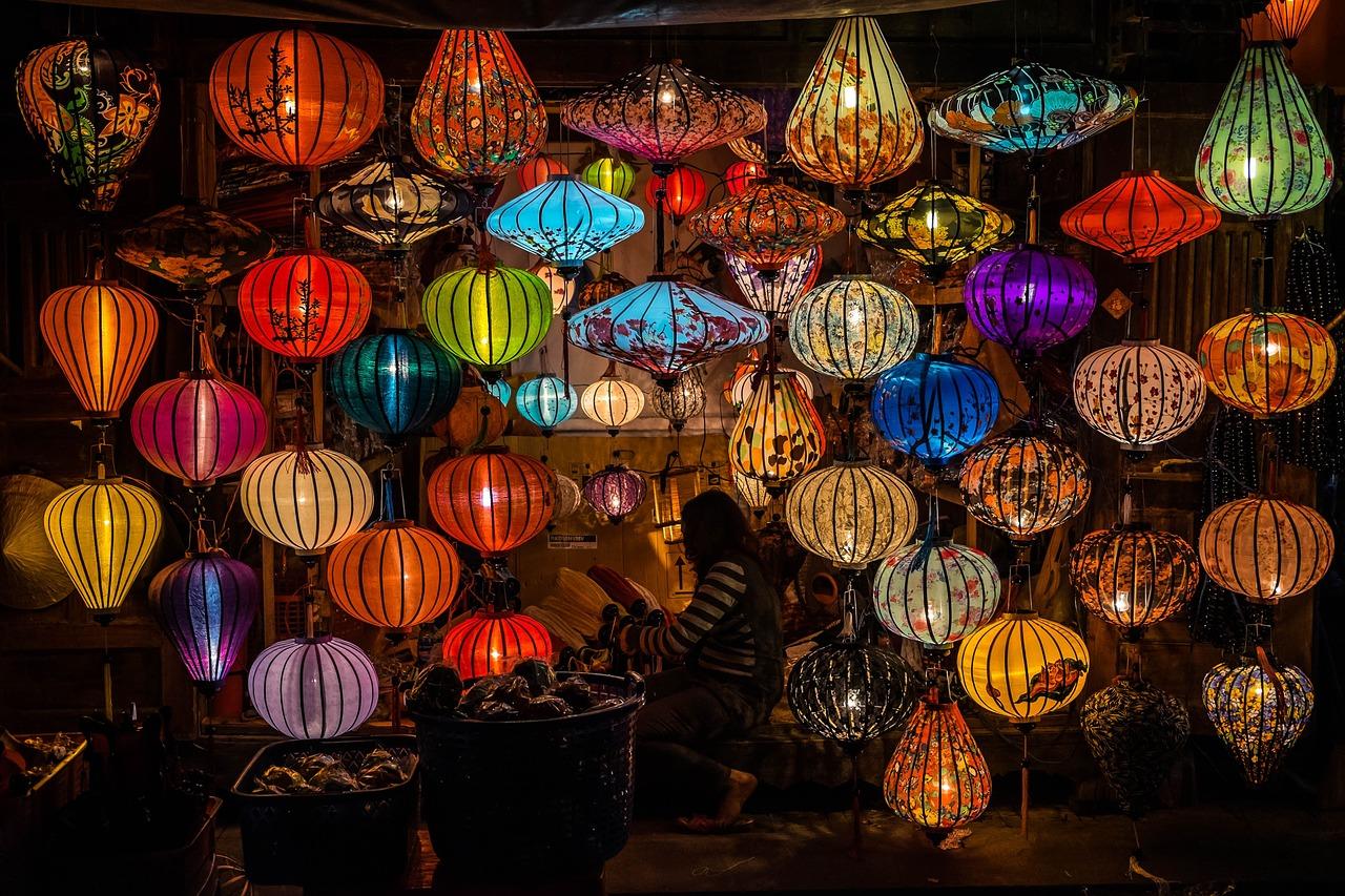 Laternenmarkt, Hoi An