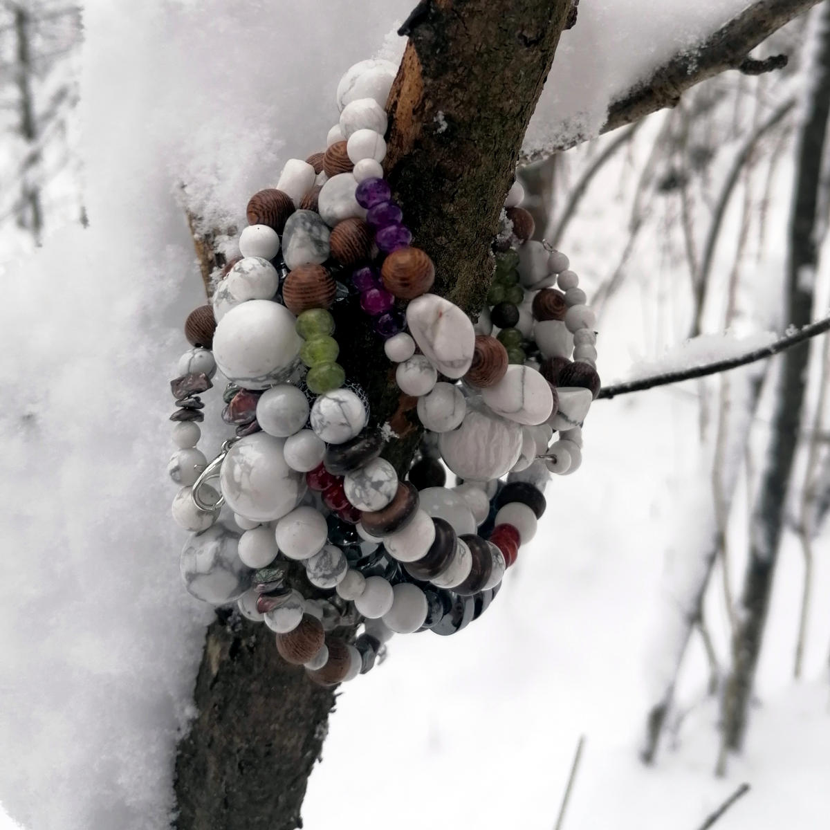 Hübsche Yoga Bracelets, handgemacht bei uns daheim!
