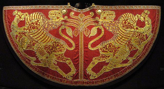 Krönungsmantel des Heiligen Römischen Reichs, Schatzkammer der Wiener Hofburg