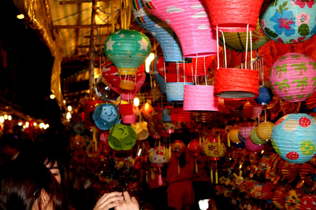Ho Chi Minh Stadt Laternenmarkt