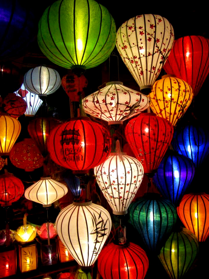 Colourful lanterns in Hoi An