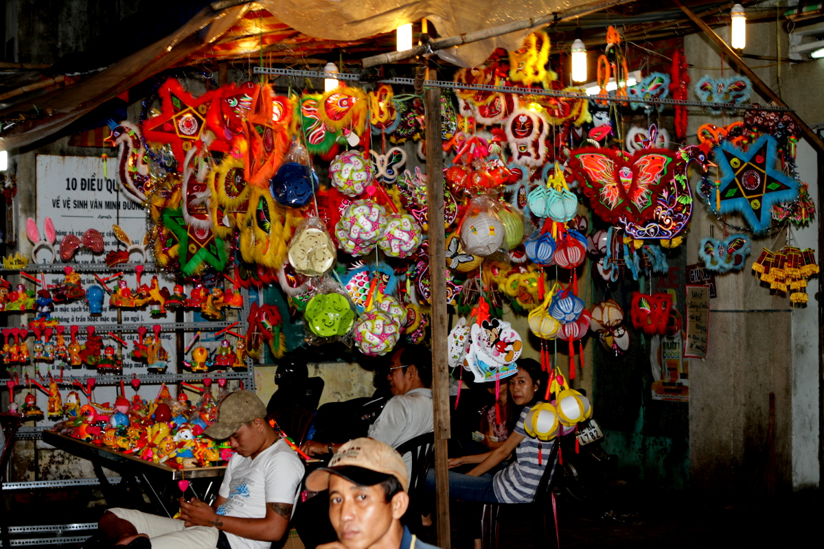 Colourful Lantern Market