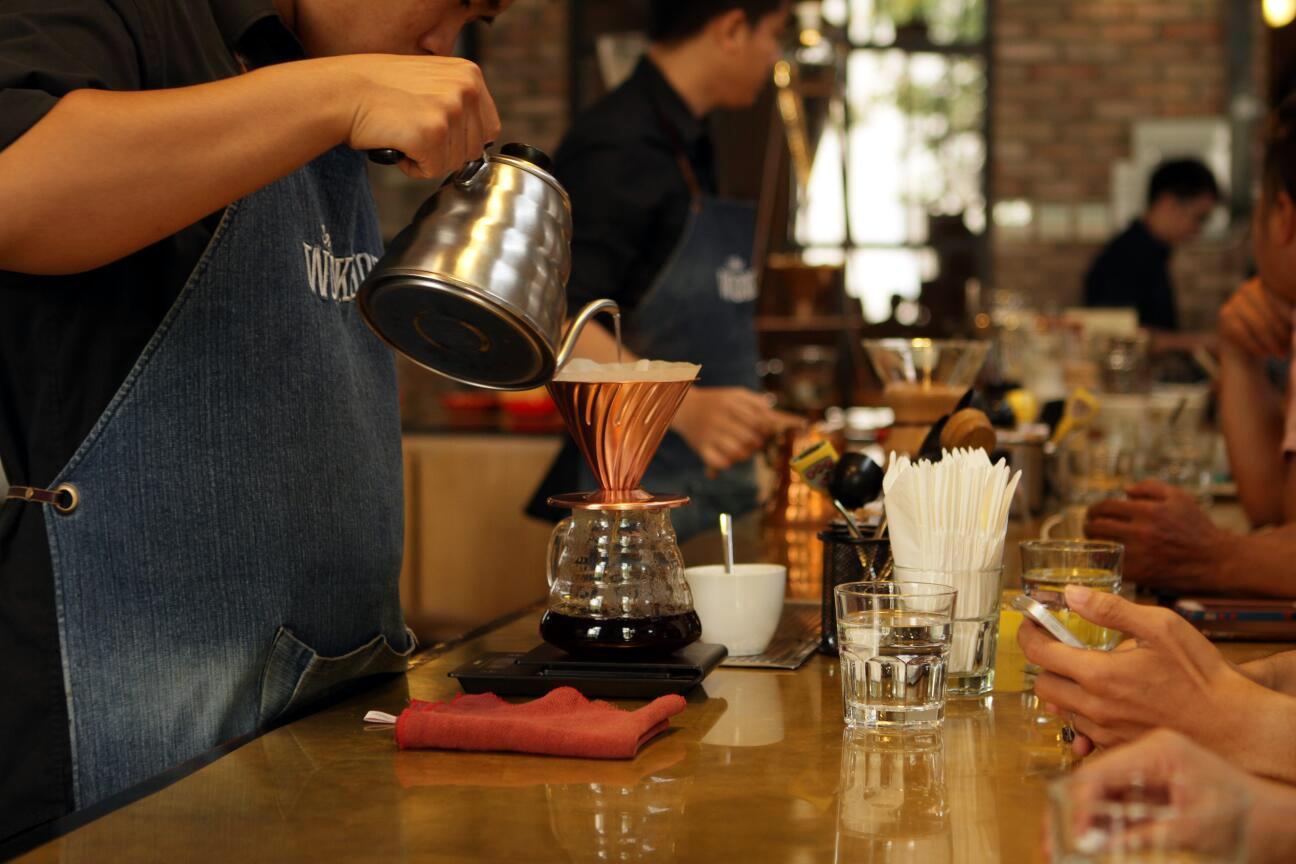 Coffee harvest celebration at The Workshop