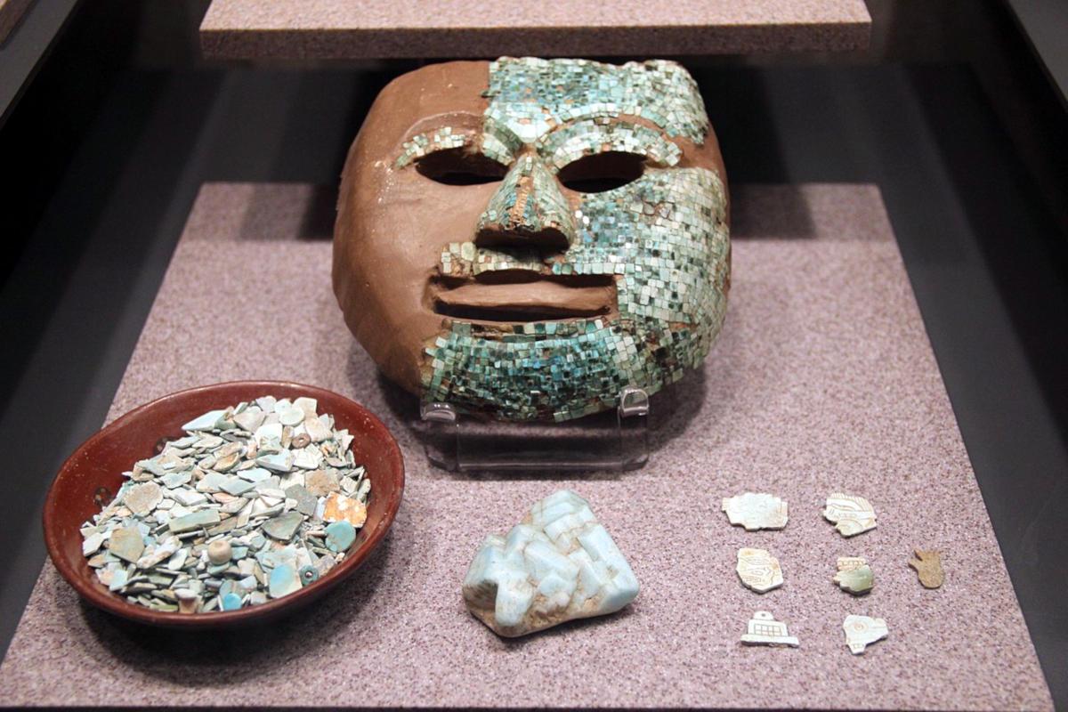 Türkis als aztekischer Schmuckstein
